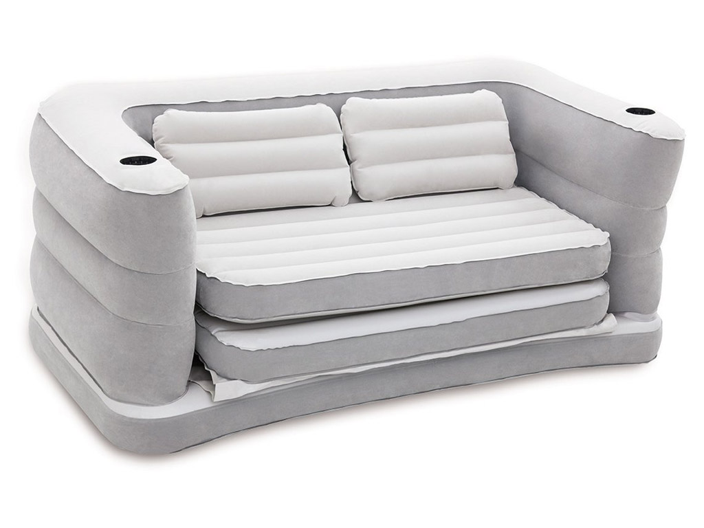 bestway inflatable air sofa couch bed 72 inch console table multi max ii double