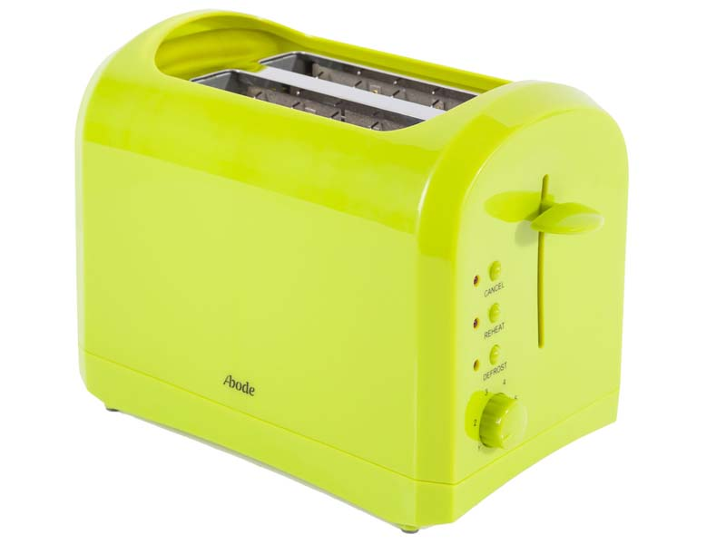 Lime Green Abode Electric Cordless 17l Kettle & 2 Slice