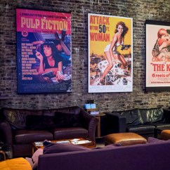 East London Sofa Cinema Velvet Blue Uk The Luxury Experience Genesis Studio 5 Grindhouse Cafe