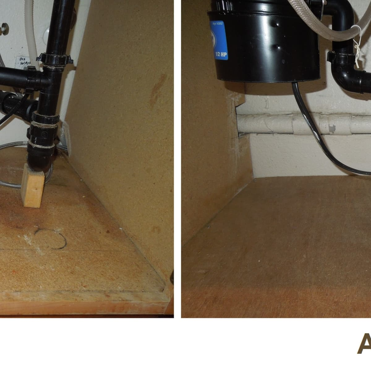 how to replace rotted wood under a