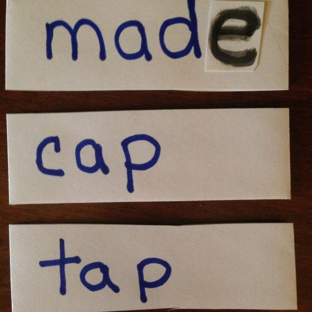 hight resolution of Teaching Long Vowel With Silent \E\ Rule - WeHaveKids - Family