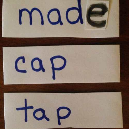 small resolution of Teaching Long Vowel With Silent \E\ Rule - WeHaveKids - Family