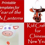 Year Of The Ox Lanterns For The Chinese New Year Printable Templates Holidappy Celebrations