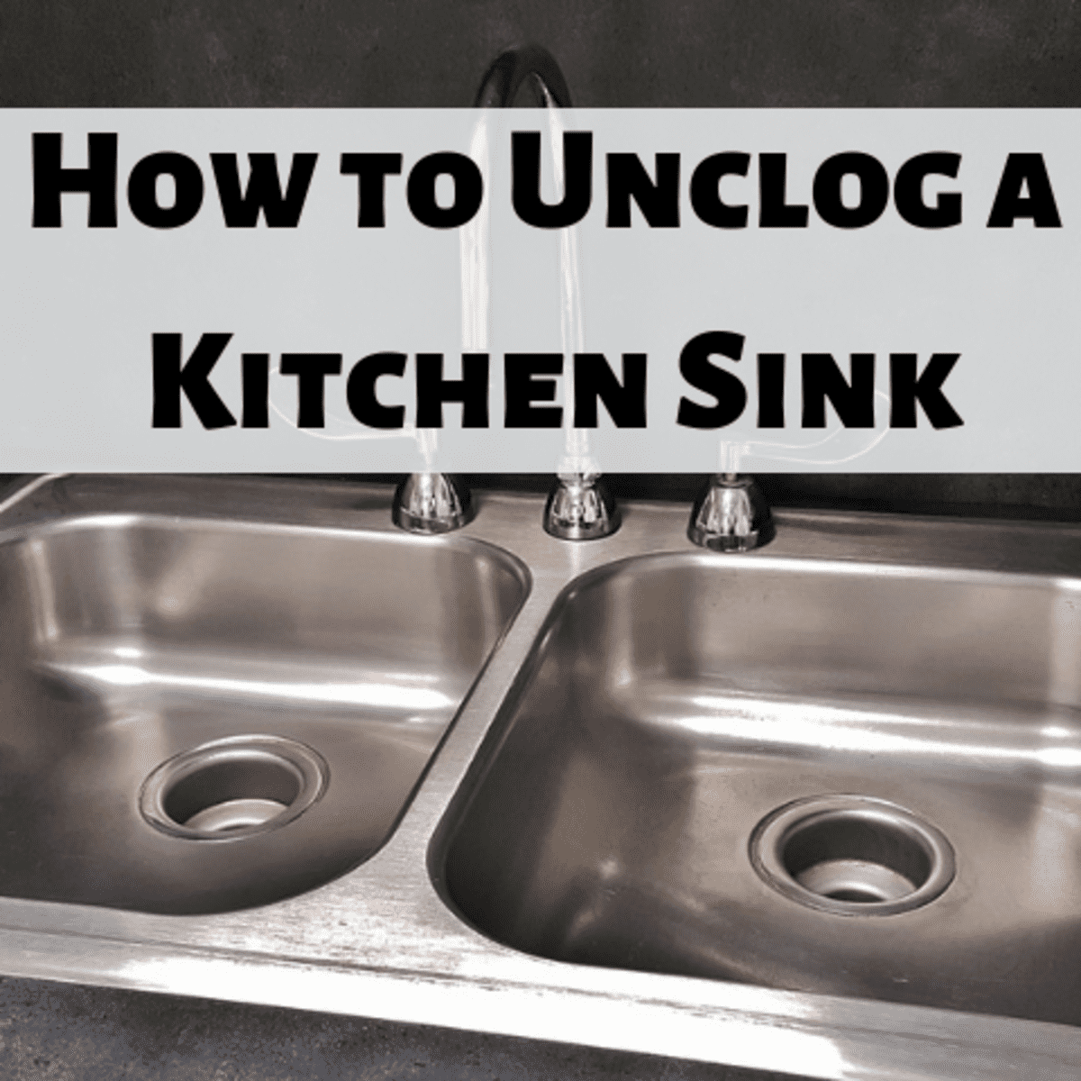how to unclog a kitchen sink drain 8