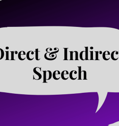 Direct and Indirect Speech With Examples and Explanations - Owlcation -  Education [ 1200 x 1200 Pixel ]