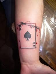 Black Spade Tattoo Meaning : black, spade, tattoo, meaning, Spades, Tattoos:, Designs,, Ideas,, Meanings, TatRing, Tattoos, Piercings