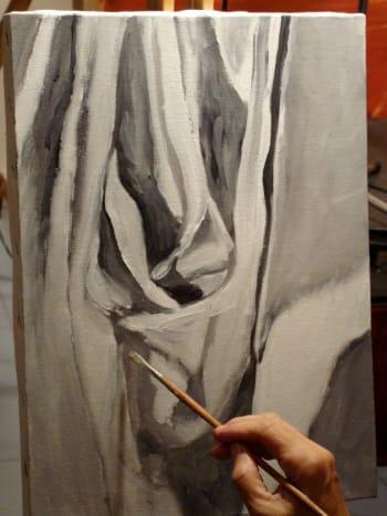 Drapery Painting : drapery, painting, Paint, Drapery, Paints, FeltMagnet, Crafts