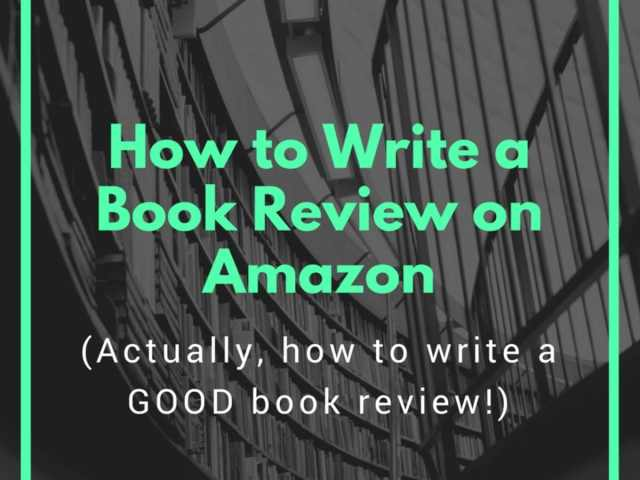 How to Write a Book Review on Amazon - ToughNickel