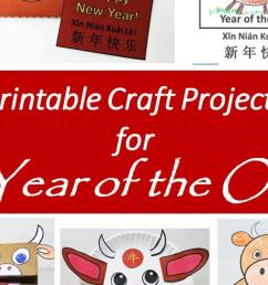 Printable Year of the Ox Projects and Crafts for the Chinese New Year -  Holidappy - Celebrations [ 900 x 1200 Pixel ]