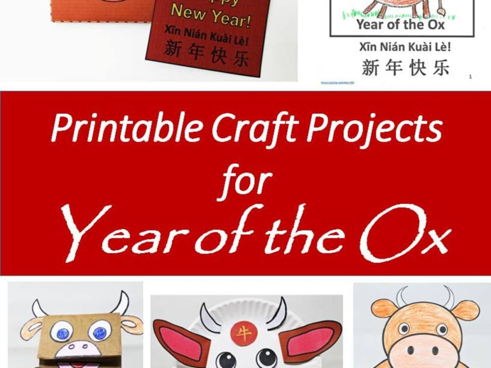 medium resolution of Printable Year of the Ox Projects and Crafts for the Chinese New Year -  Holidappy - Celebrations