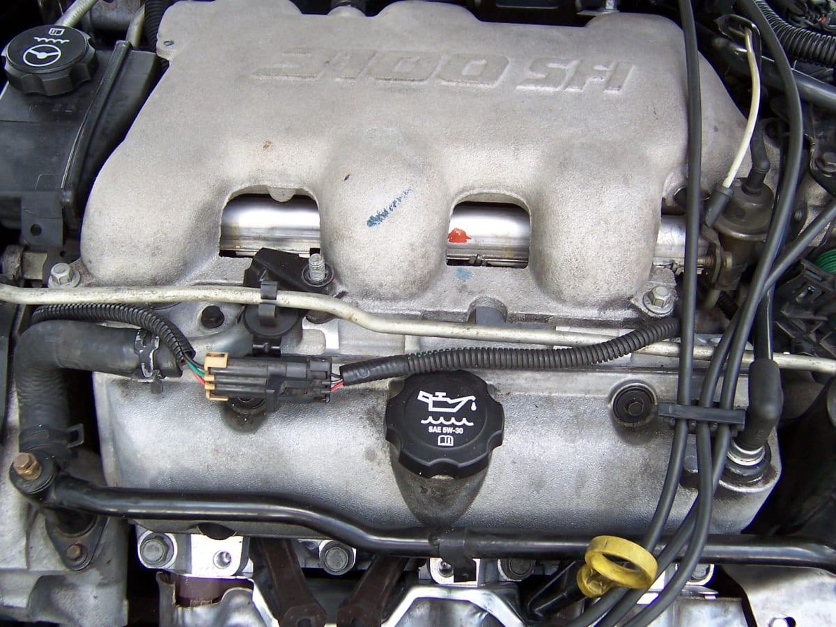 leaking intake manifold gasket and