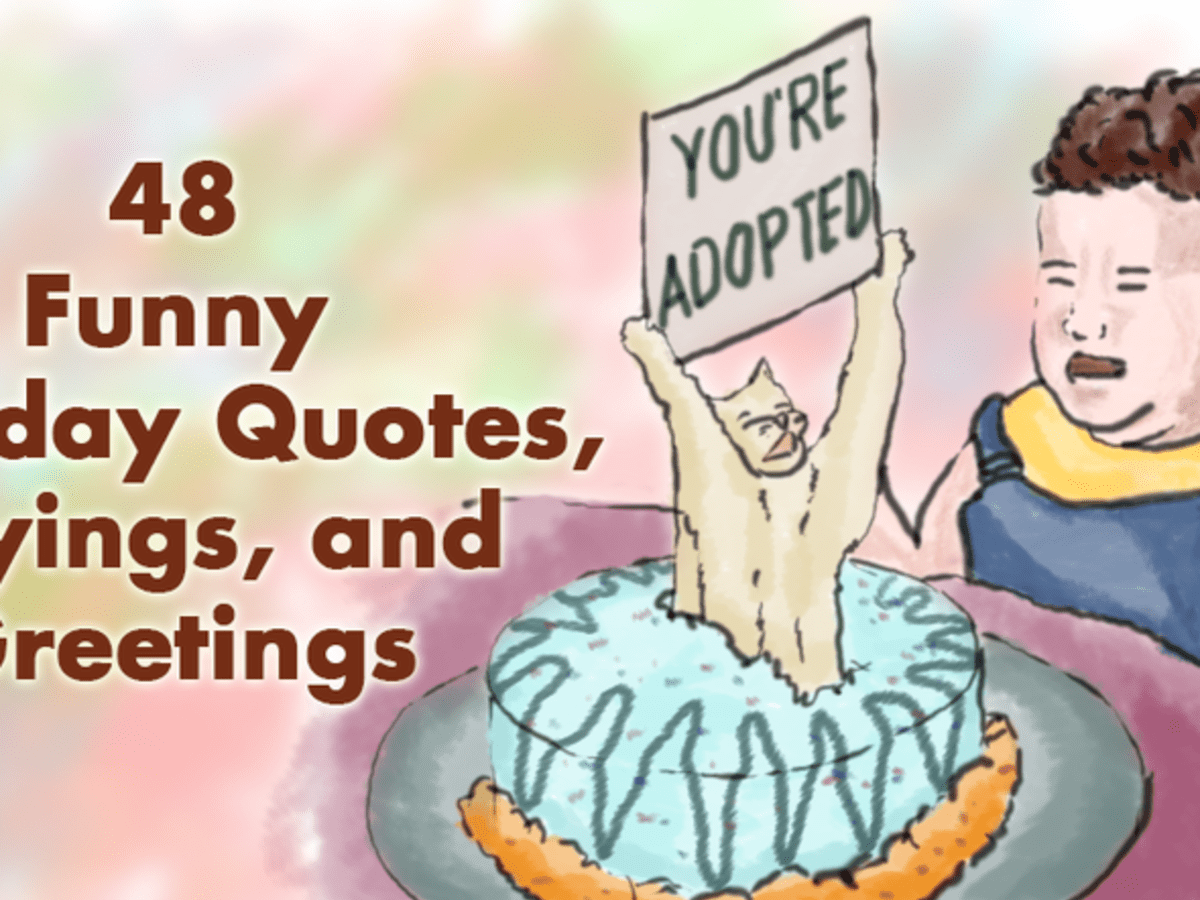 48 Funny Birthday Quotes Sayings And Greetings Holidappy