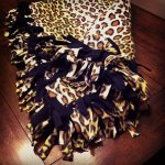 How To Make An Easy No Sew Tie Fleece Blanket Feltmagnet Crafts