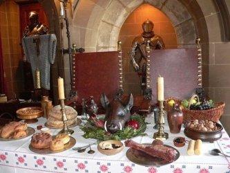 Medieval Tudor Feast Menu Owlcation Education