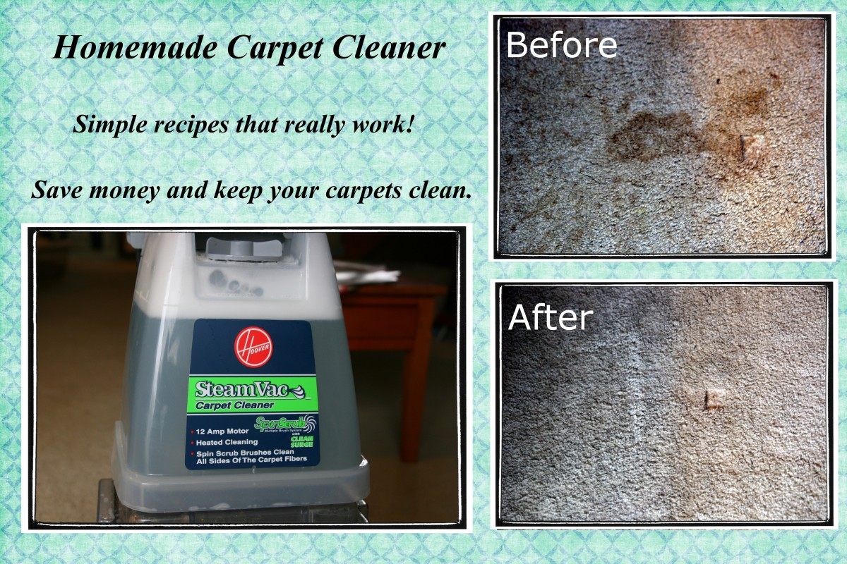 How To Make Homemade Carpet Cleaner Dengarden Home And Garden