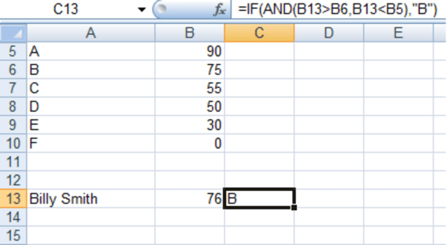 Using the IF and IFERROR Functions in Excel 23 and 23