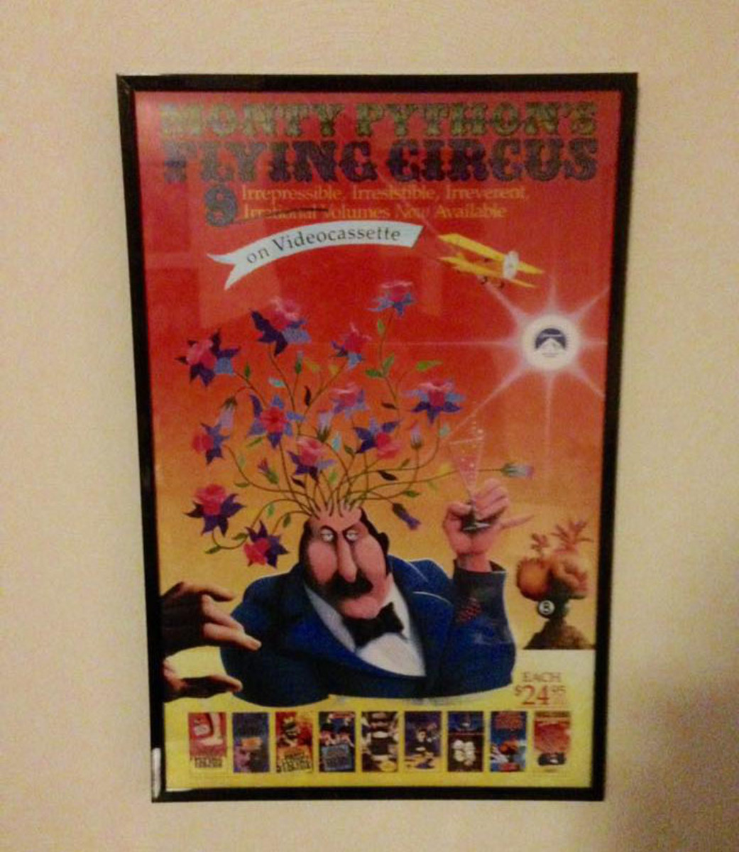 how to frame and hang posters dengarden