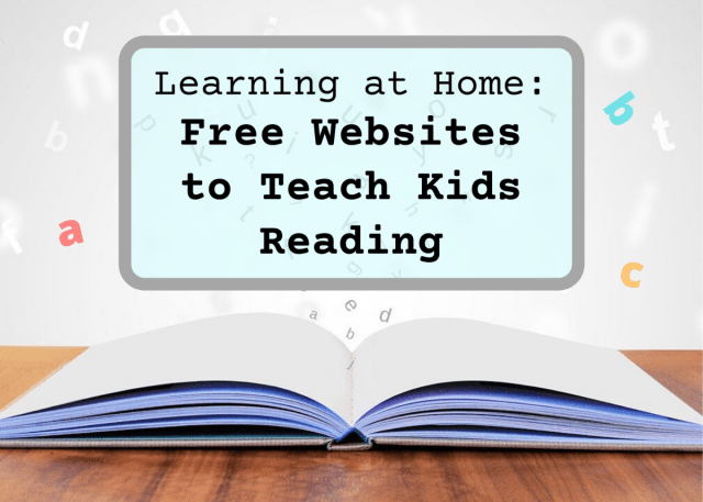 30 Free and Fun Elementary Reading Websites for Kids - WeHaveKids