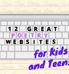 Best Poetry Websites and Online Interactives for Kids - WeHaveKids - Family [ 857 x 1200 Pixel ]