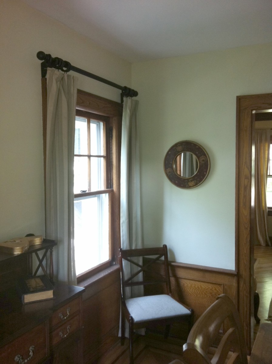 how to update curtains or drapes