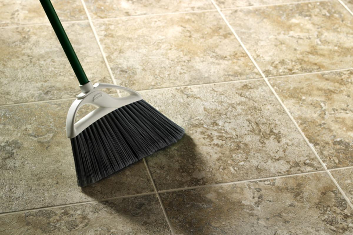your tile floors sparkling clean