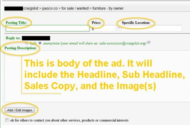 How to Write an Effective Craigslist Ad - ToughNickel