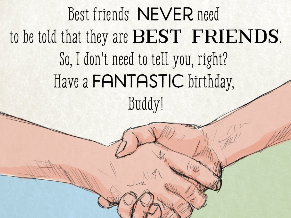 A Unique Collection of Happy Birthday Wishes to a Best Friend - Holidappy -  Celebrations
