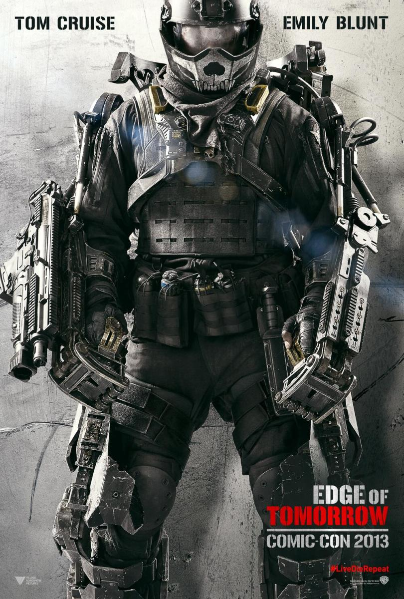 Film Comme Edge Of Tomorrow : comme, tomorrow, Action, Movies,