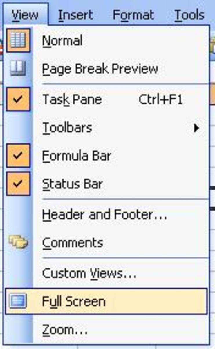Menu Menu Microsoft Excel : microsoft, excel, Working, Microsoft, Office, Excel, HubPages