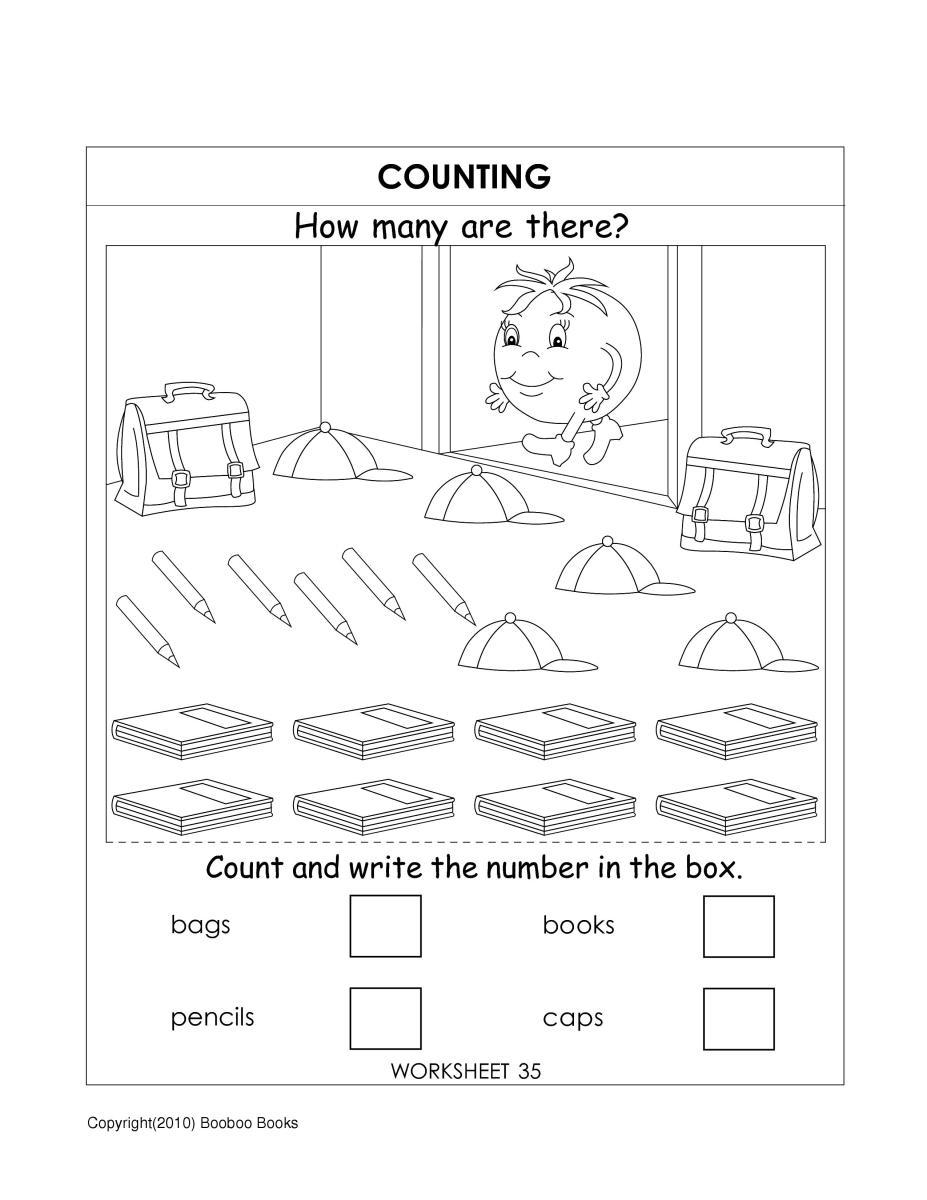 medium resolution of UKG (Kindergarten) Worksheets - HubPages
