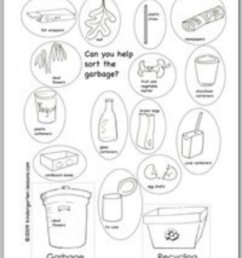 Recycling Worksheets for Kids - HubPages [ 1200 x 938 Pixel ]