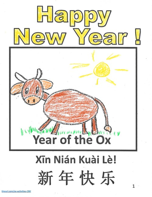 small resolution of Printable Year of the Ox Projects and Crafts for the Chinese New Year -  Holidappy - Celebrations