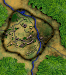 Creating Fantasy City Maps for Roleplaying Games With GIMP 2 8 2 10 12 HubPages