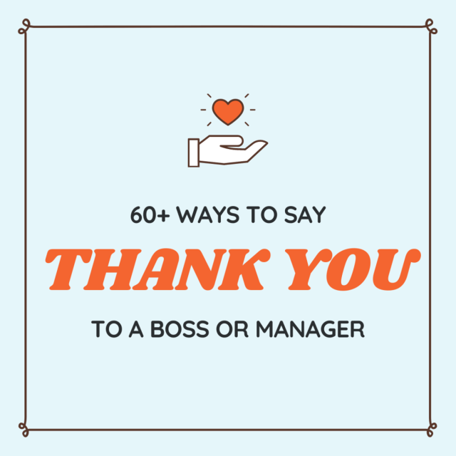 Thank-You Notes, Quotes, and Appreciation Messages for a Boss