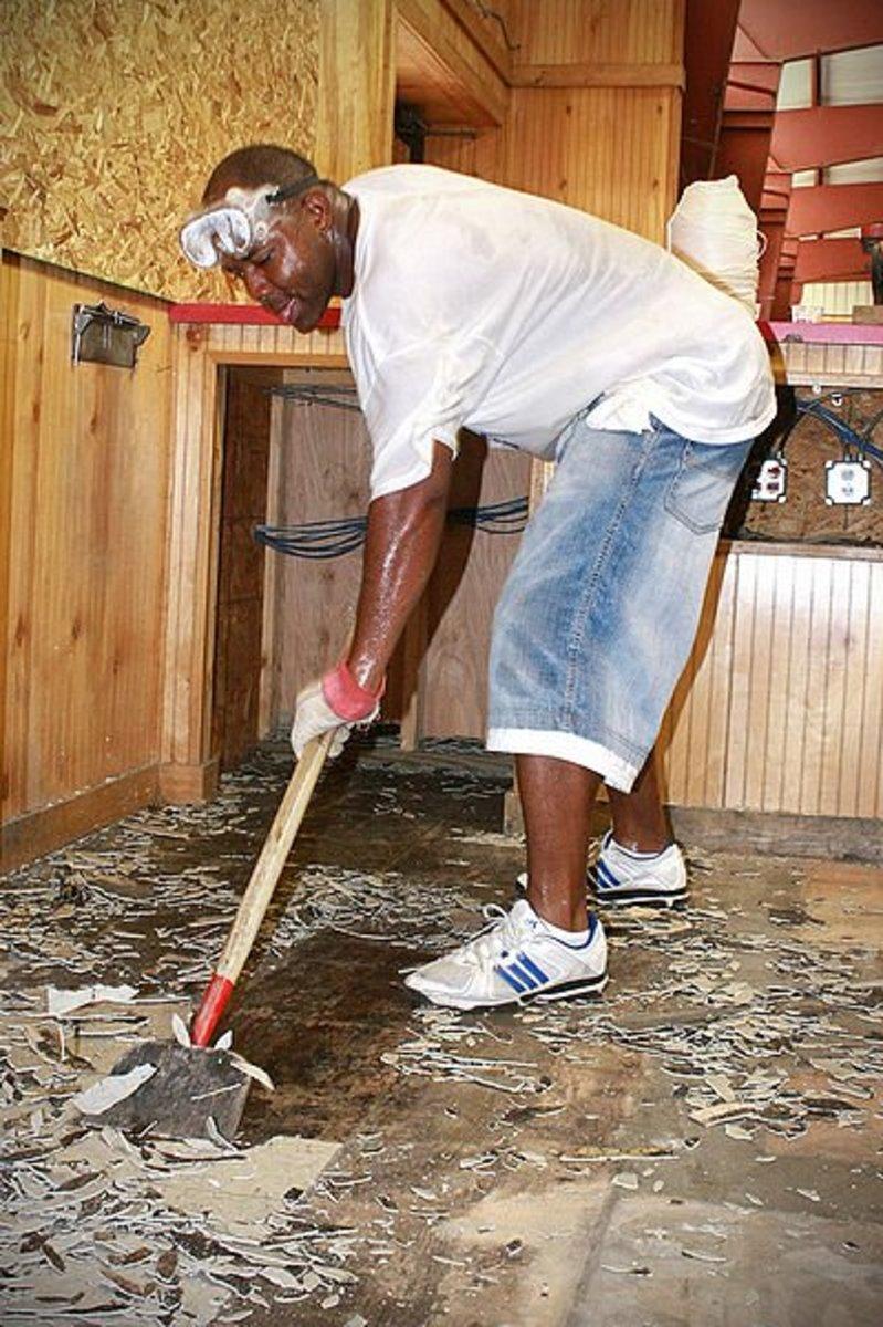 to lay self stick vinyl tile flooring