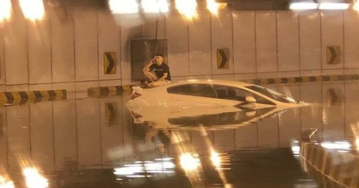 Image result for man caught in smart tunnel
