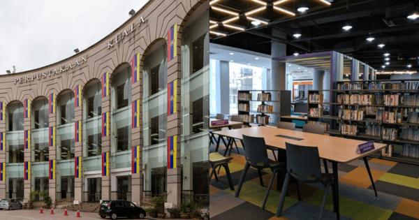 Photos Kl Library At Dataran Merdeka Just Reopened After