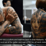 It Is Part Of Malaysian Culture Netizens Defend Tattoo