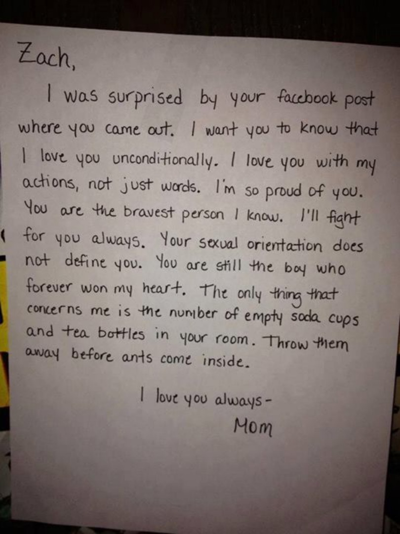 What Happens When a Mother Finds Out Her Sons Gay This