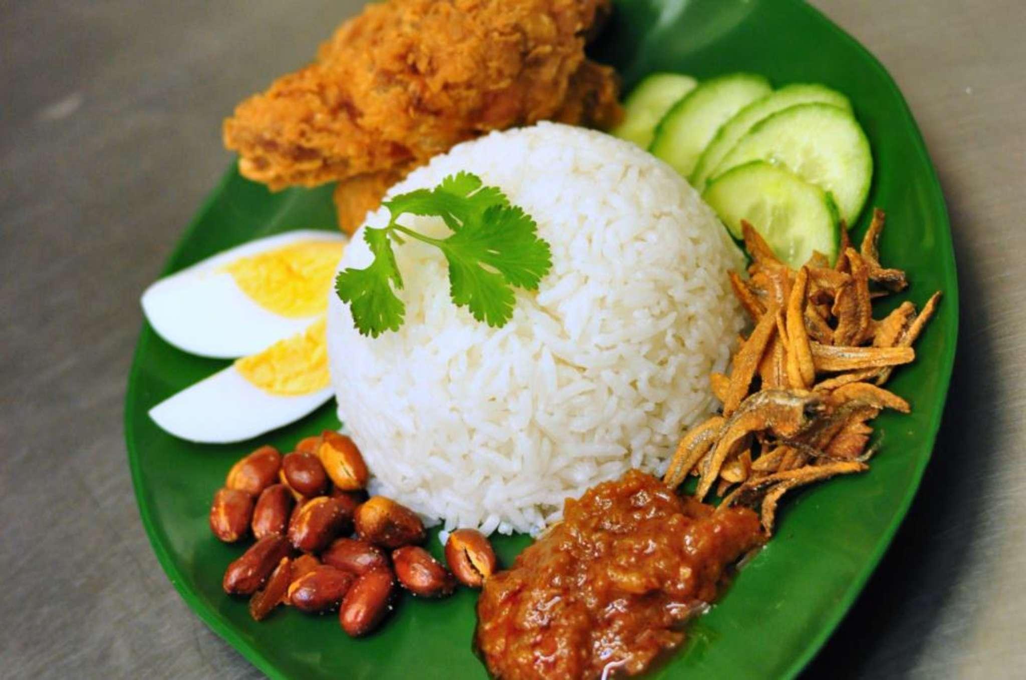 KERENGGA Sebenarnya Nasi Lemak Adalah Makanan Sihat