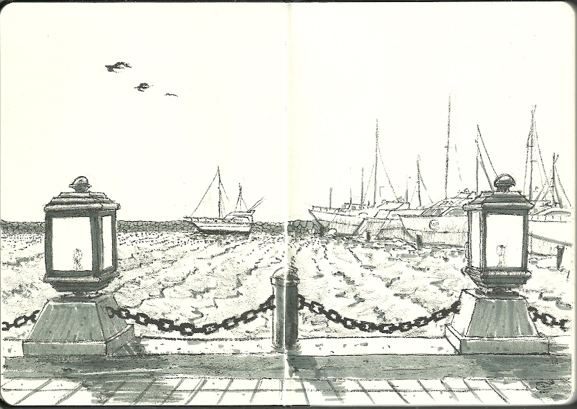 [PHOTOS] These Amazing Sketches Will Inspire You To Travel