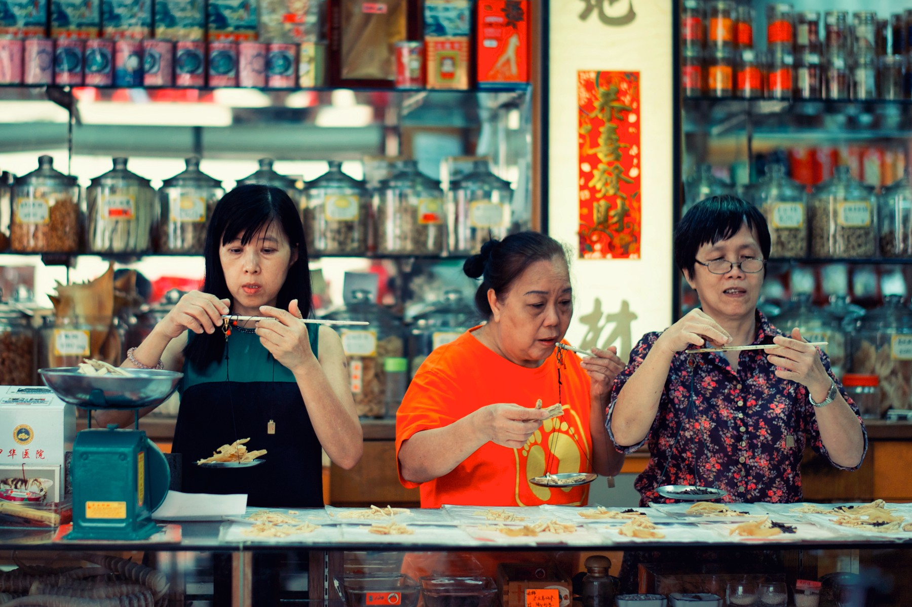 The Hakka people are often credited for establishing Chinese traditional medicine shops.