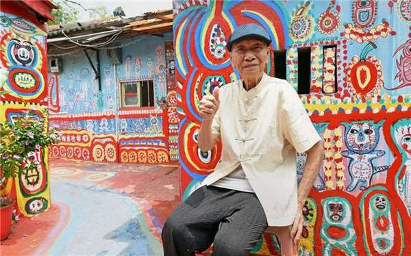 "Mr Huang Yung-Fu, A.K.A ""Rainbow Grandpa""."