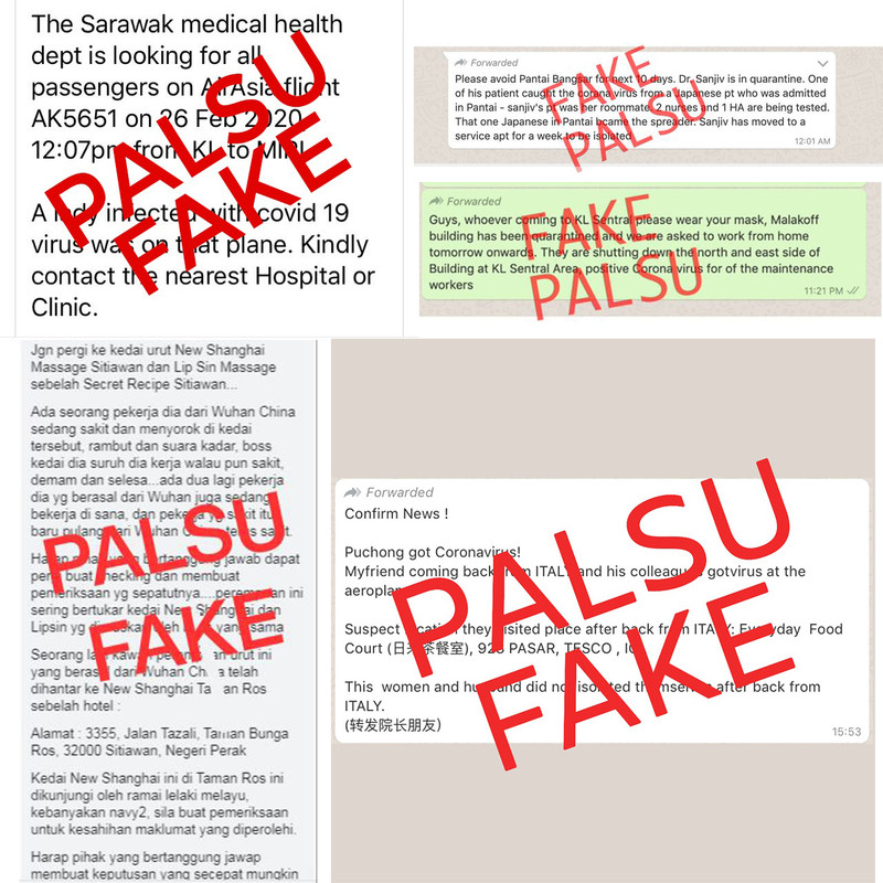 MOH Debunks Fake COVID-19 News