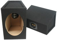 "Custom Speaker 6x9"" Wedge Boxes - BLK6X9"