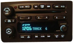 2003 2004 2005 Chevy Tahoe Factory Stereo 6 Disc Changer CD Player OEM Radio  R238316