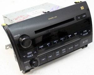 2008 2009 Toyota Sequoia Factory Stereo Jbl 6 Disc Changer