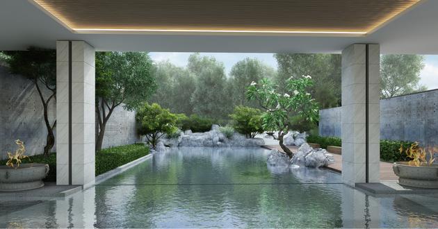 Lalu Hotel  Mixed Use Development  Nanjing  Landscape