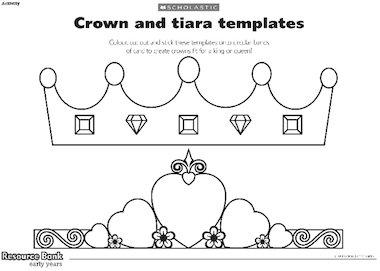 Crown and tiara templates