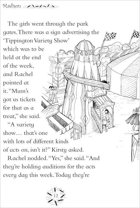 Rainbow Magic Showtime Fairies #99: Madison the Magic Show